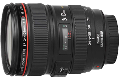 Canon EF 24-105mm f/4L IS USM Lens Hire in Melbourne