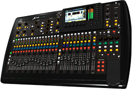 Behringer X32 Audio Console Hire in Melbourne